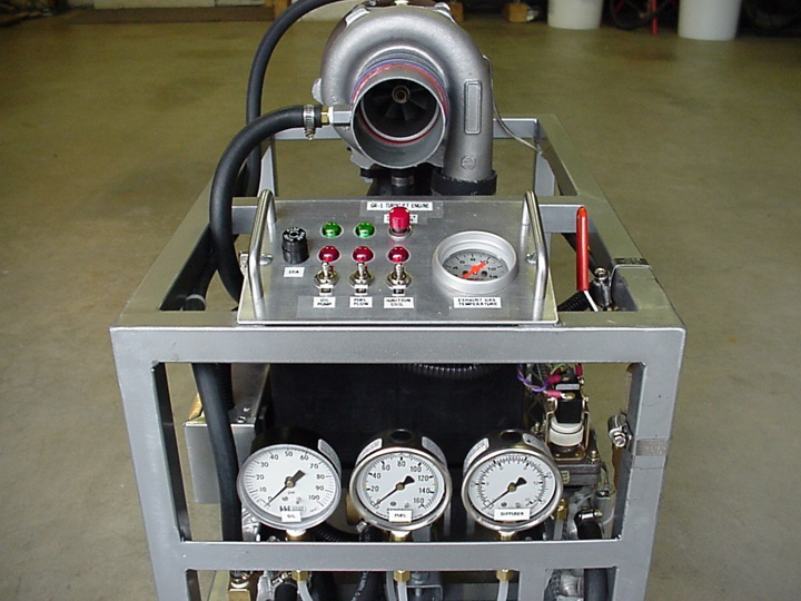 GR-1 Turbojet Engine Project