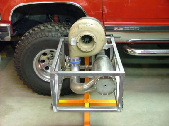 涡轮喷气发动机的制作(图解)4-模型发动机及