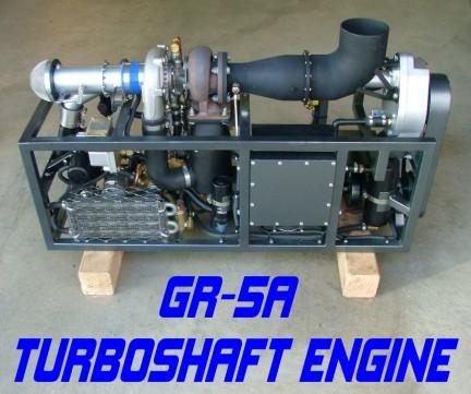 GR-5A Turboshaft Engine