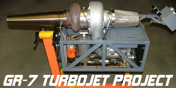 Home jet engine project