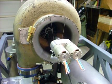 自制喷气式发动机图; gr-7